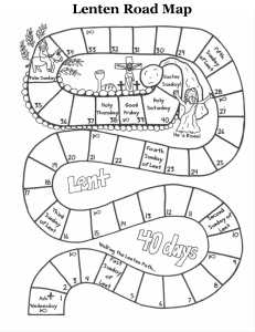 coloring pages for lent - roadmap through lent children 39 s ministry